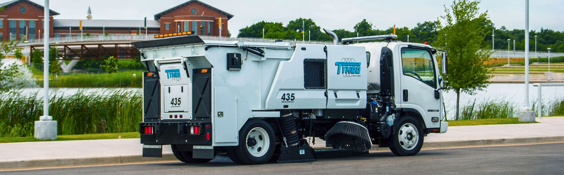 435 Tymco Industrial Sweeper